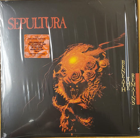 Sepultura - Beneath The Remains(180g, 2xlp expanded, yellow/orange)