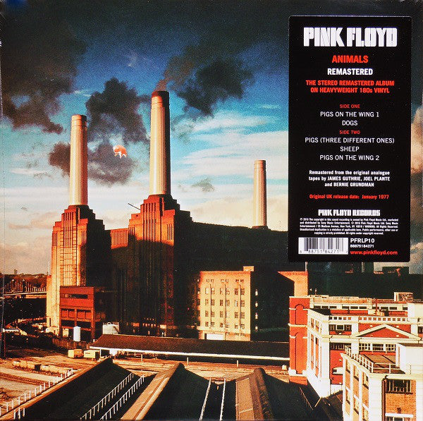 Pink Floyd - Animals Vinil - Salvaje Music Store MEXICO