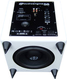 Audioengine - S8 Subwoofer autoamplificado (blanco)
