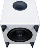Audioengine - S8 Subwoofer autoamplificado (blanco) bocinas - Salvaje Music Store MEXICO