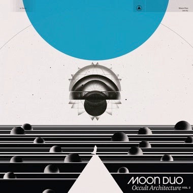 Moon Duo - Occult Architecture Vol. 2 (LP - White & Blue Swirl) Vinil - Salvaje Music Store MEXICO