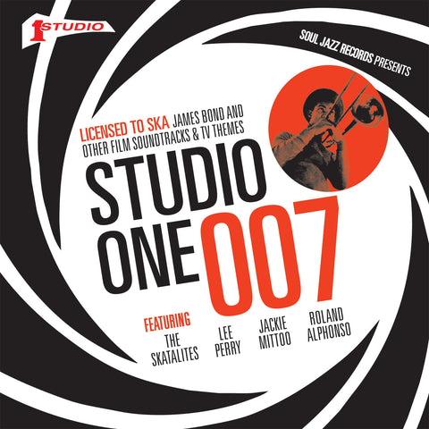 "Soul Jazz Records - STUDIO ONE 007: Licensed To Ska! James Bond and other Film Soundtracks and TV Themes (7"" VINYL BOX SET)"