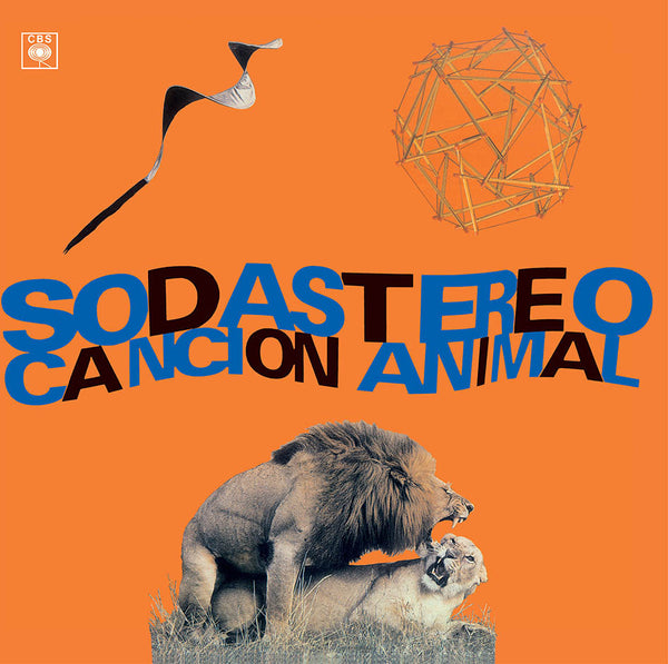 Soda Stereo - Canción Animal Vinil - Salvaje Music Store MEXICO