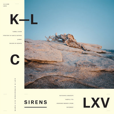 Kara Lis Coverdale and LXV - Sirens Vinil - Salvaje Music Store MEXICO