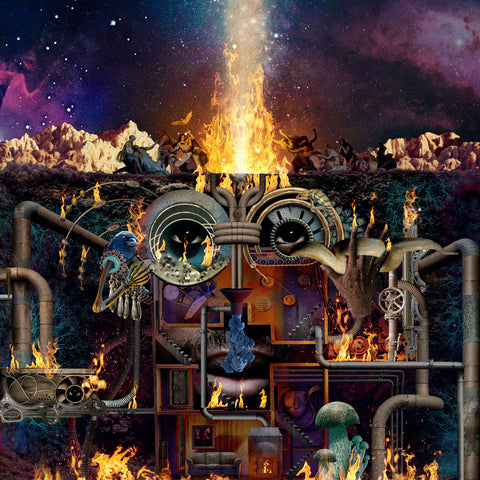 Flying Lotus - Flamagra (2xLP Limited Pop-Up Deluxe Edition) Vinil - Salvaje Music Store MEXICO