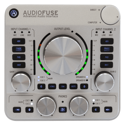 Arturia - AudioFuse Audio Interface Audio Interfase - Salvaje Music Store MEXICO