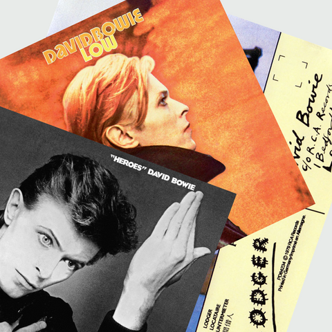 Bowie - Berlin Trilogy Pack