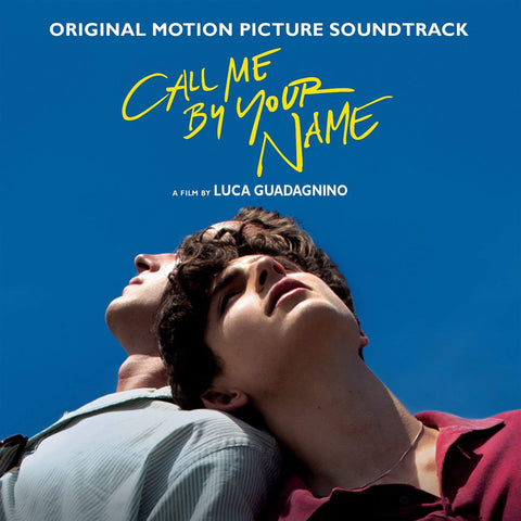 Call Me By Your Name OST (2xLP Red) Vinil - Salvaje Music Store MEXICO