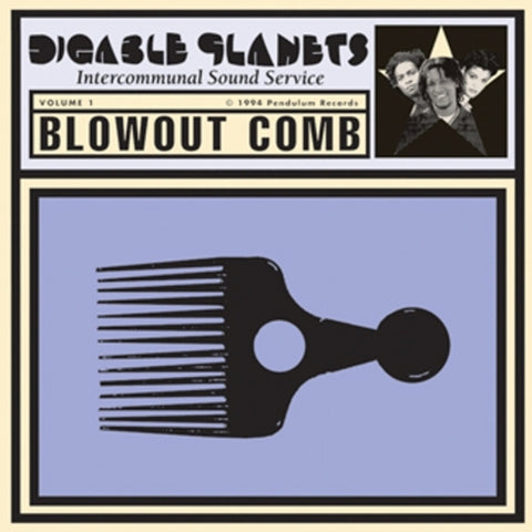 Diggable Planets - Blowout Comb Vinil - Salvaje Music Store MEXICO