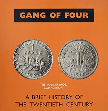 Gang Of Four - A Brief History of the Twentieth Century (clear LP) Vinil - Salvaje Music Store MEXICO