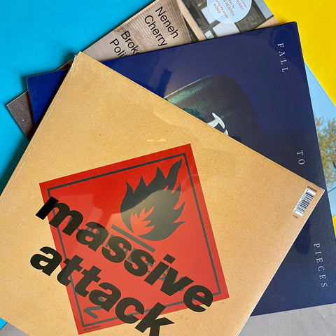 AFRONEXT PACK: Tricky - Fall To Pieces  + Neneh Cherry - Broken Politics +  Massive Attack - Blue Lines