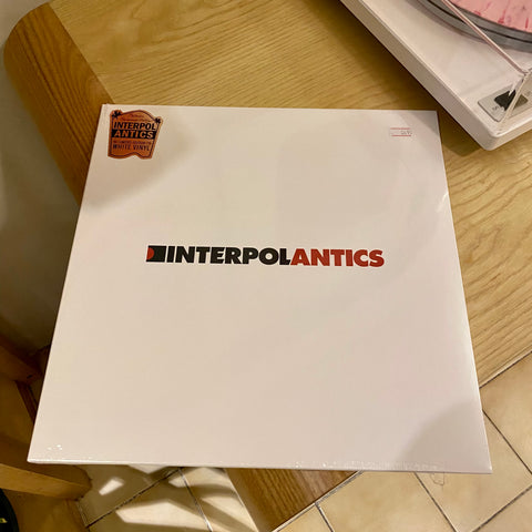 Interpol - Antics (Ltd. Edition, White Vinyl 2020)