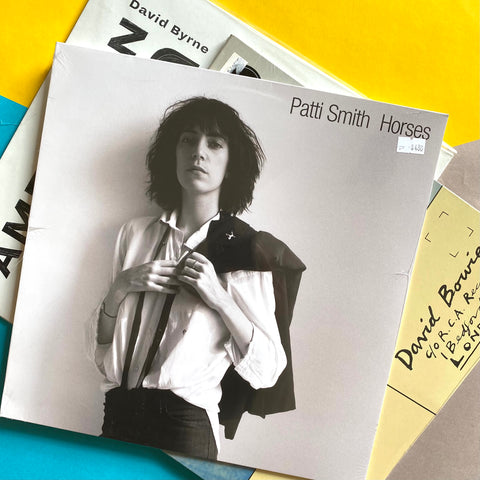 HEROES PACK: Patti Smith - Horses  + David Byrne American Utopia  + David Bowie - Lodger