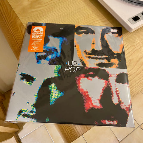 U2 - Pop (2xLP Ltd Orange Vinyl)