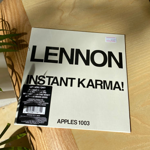 Lennon/Ono With The Plastic Ono Band - Instant Karma! (2020 Ultimate Mixes, 7'', RSD 2020)