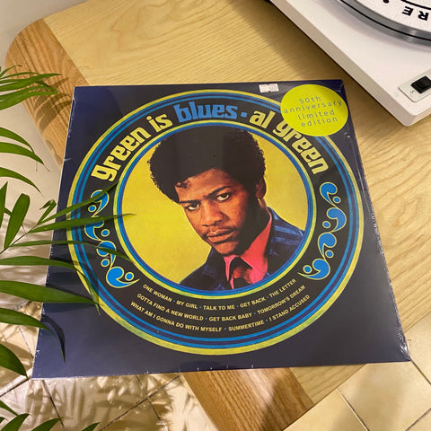 Al Green - Green Is Blues (Split green/blue 180g vinyl - RSD 2020)