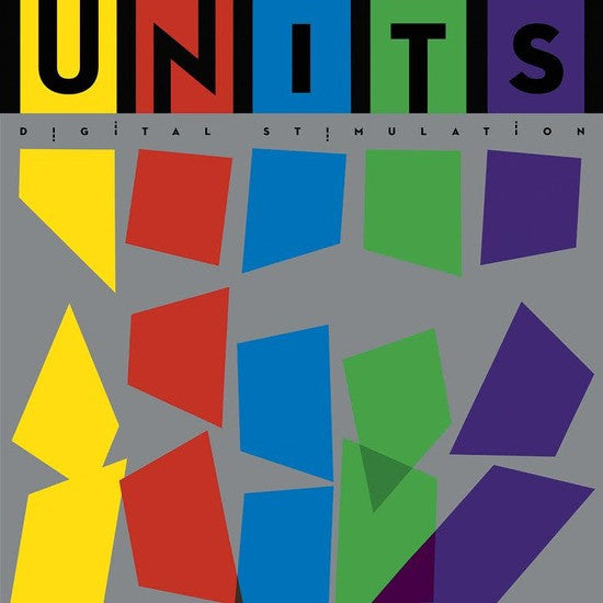 UNITS - Digital Stimulation (180G - Intense Yellow Marbled with White and Red) Vinil - Salvaje Music Store MEXICO