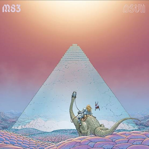 M83 - DSVII [2LP] (Pink Galaxy Colored Vinyl, limited edition) Vinil - Salvaje Music Store MEXICO