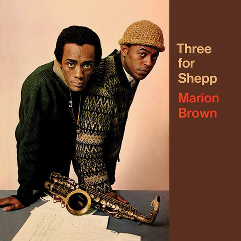 Marion Brown - Three For Shepp Vinil - Salvaje Music Store MEXICO