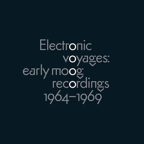 Various Artists - Electronic Voyages: Early Moog Recordings 1964-1969 [LP] Vinil - Salvaje Music Store MEXICO