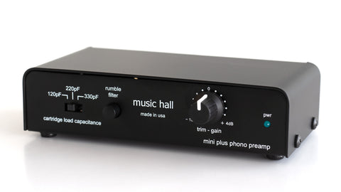 Music Hall - Mini Plus Phono Preamp preamp - Salvaje Music Store MEXICO