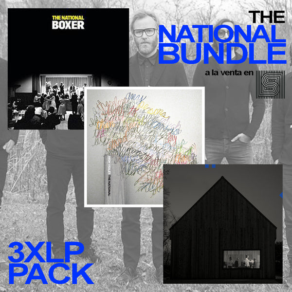 The National - 3xLP Bundle (4 LPs) Vinil - Salvaje Music Store MEXICO