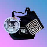 Salvaje Music Store - Pack de aniversario (Slipmat + Playera + Tote Bag)