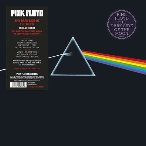 Pink Floyd - The Dark Side Of The Moon (1LP+Poster+Gatefold) Vinil - Salvaje Music Store MEXICO