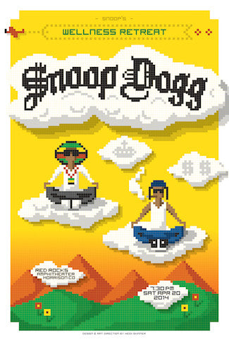 Snoop Dogg (Lithograph) Print - Salvaje Music Store MEXICO