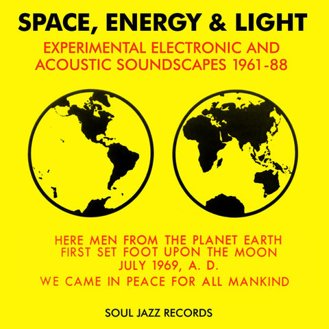 Space, Energy & Light: Experimental Electronic And Acoustic Soundscapes 1961-88 Vinil - Salvaje Music Store MEXICO