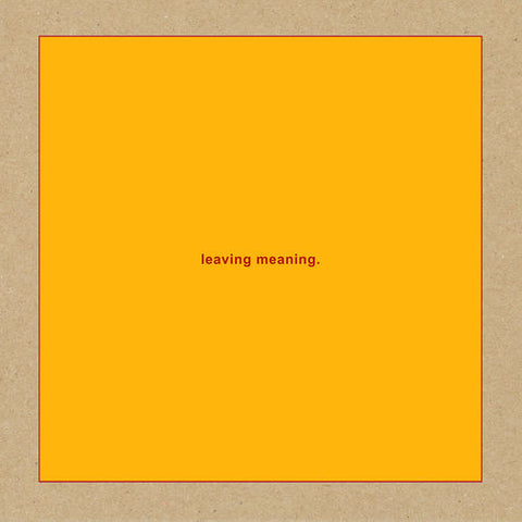 Swans - Leaving Meaning. [2LP] Vinil - Salvaje Music Store MEXICO