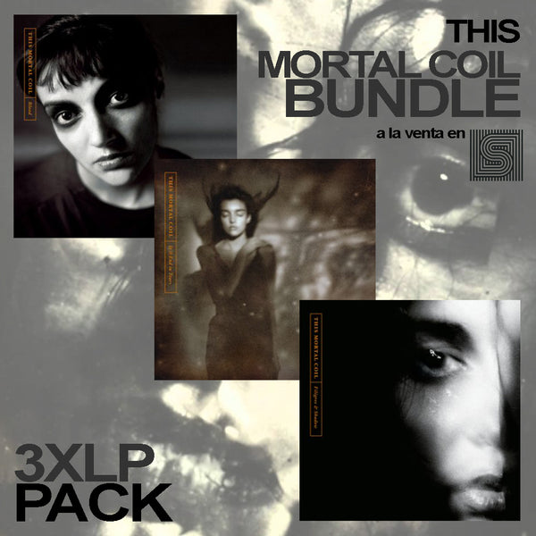 This Mortal Coil - 3xLP Bundle (5 LPs, Deluxe Reissues Pack) PRE VENTA