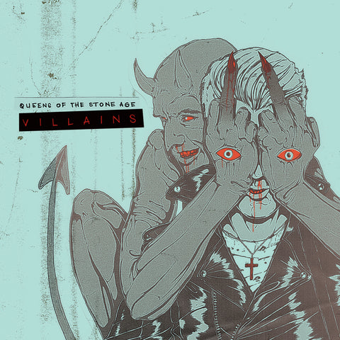 Queens Of The Stoneage - Villains 1.5XLP INDIE EXCLUSIVE w/ ALTERNATE COVER - PRE VENTA Vinil - Salvaje Music Store MEXICO