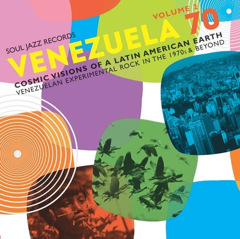 Venezuela 70 - Cosmic Visions of A Latin American Earth: Venezuelan Experimental Rock In The 1970s and Beyond 2 Vinil - Salvaje Music Store MEXICO