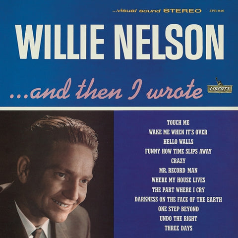 Willie Nelson - And Then I Wrote Vinil - Salvaje Music Store MEXICO