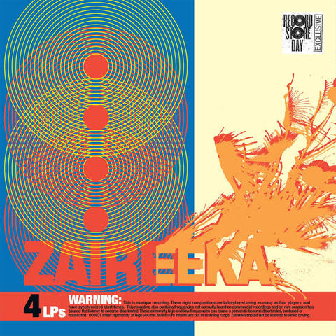 Flaming Lips - Zaireeka (4LP different colours RSD2013) Vinil - Salvaje Music Store MEXICO
