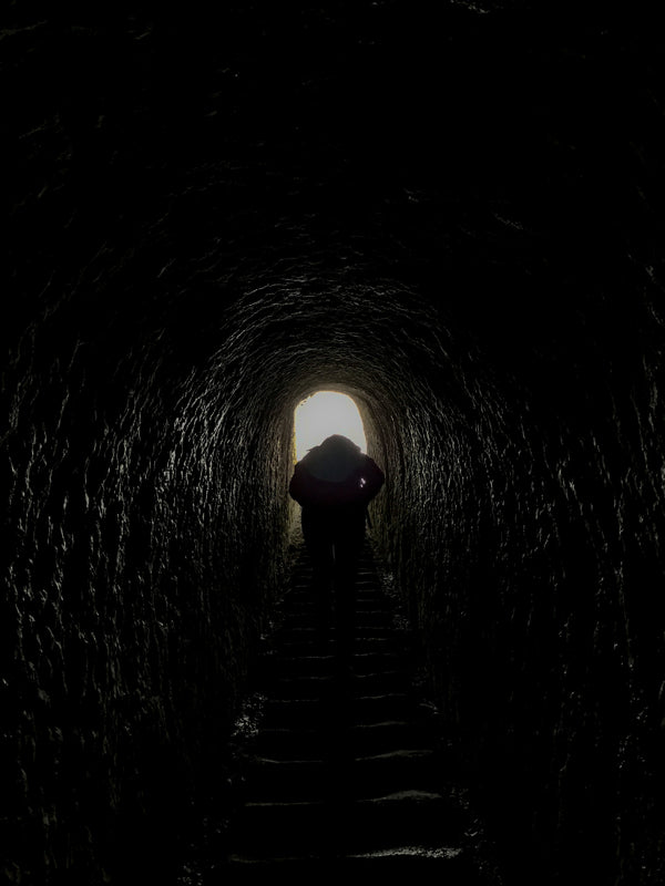 Looking Towards The Light At The End Of The Tunnel