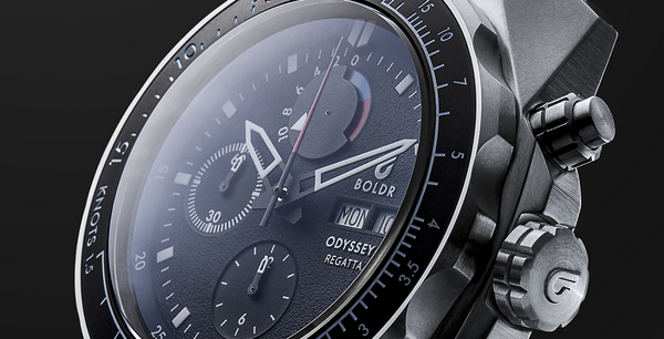 Braving New Horizons - BOLDR Supply Company Releases Its First-Ever Regatta Timepiece