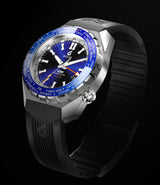 BOLDR Globetrotter GMT - Diver's Watch Facebook Group LE (Blue)