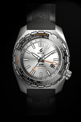 BOLDR Globetrotter GMT - Diver's Watch Facebook Group LE (White)