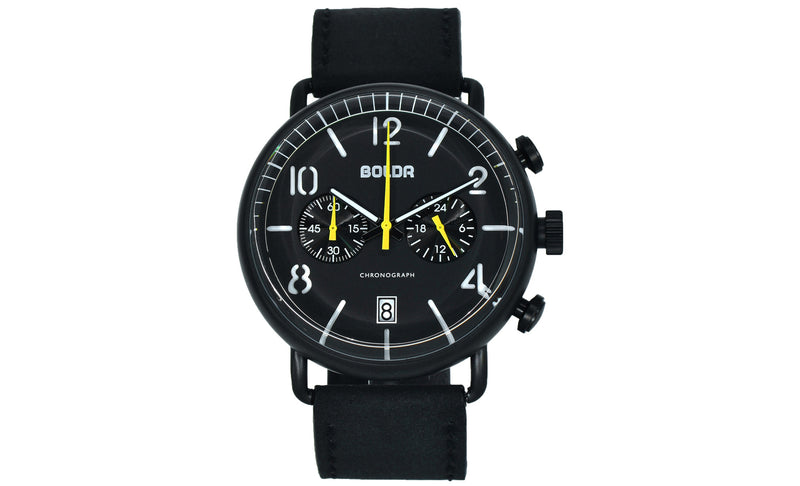 BOLDR Journey Chronograph: Wasp