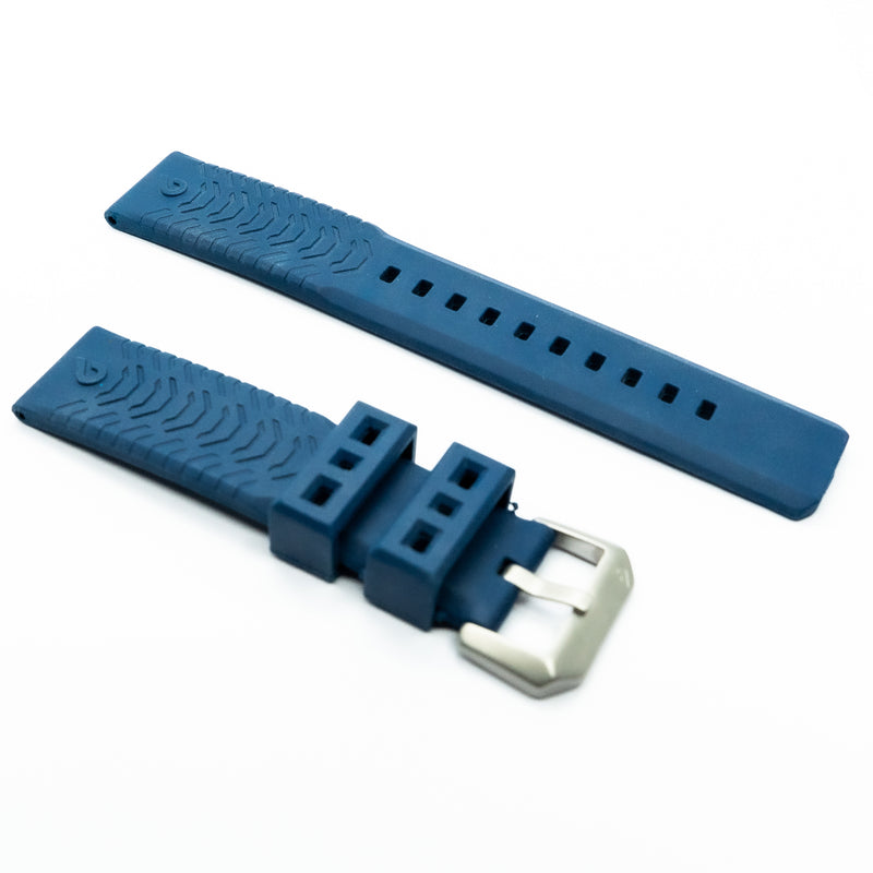 Expedition Rubber Strap - Blue
