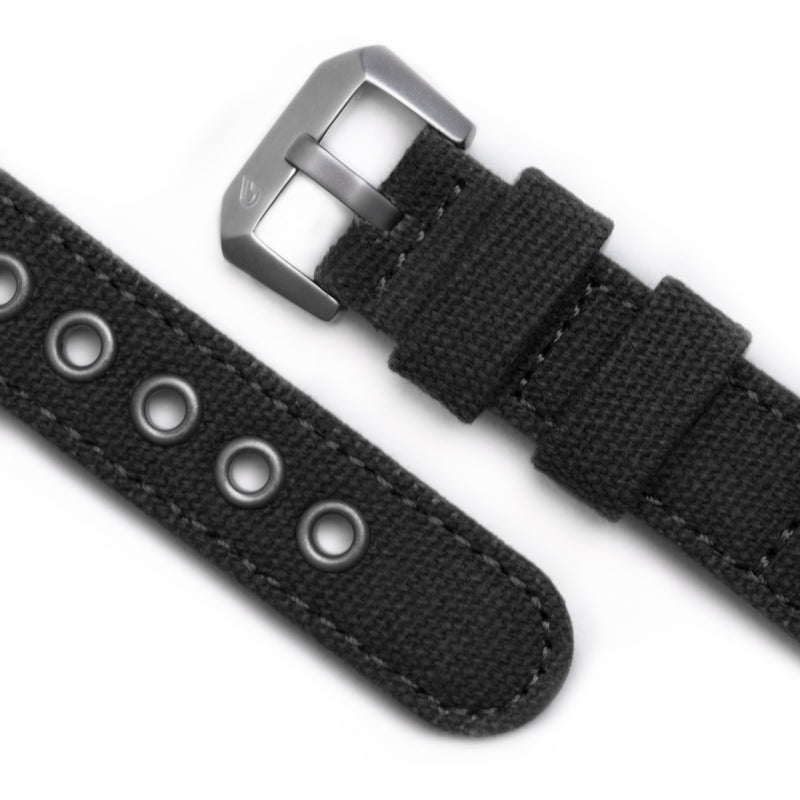 Expedition Canvas Strap - Black