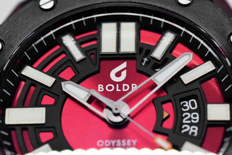BOLDR Odyssey Carbon - Red