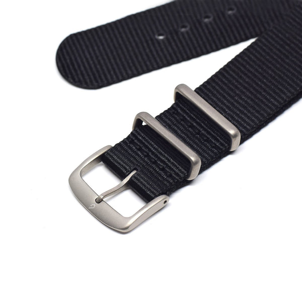BOLDR Tropics Rubber Strap with Brass Buckles (20mm)