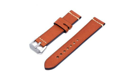 BOLDR Expedition Brown Horween Leather Strap (20mm)