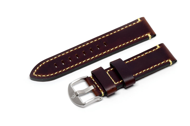 BOLDR Brown Horween Leather Strap (22mm)