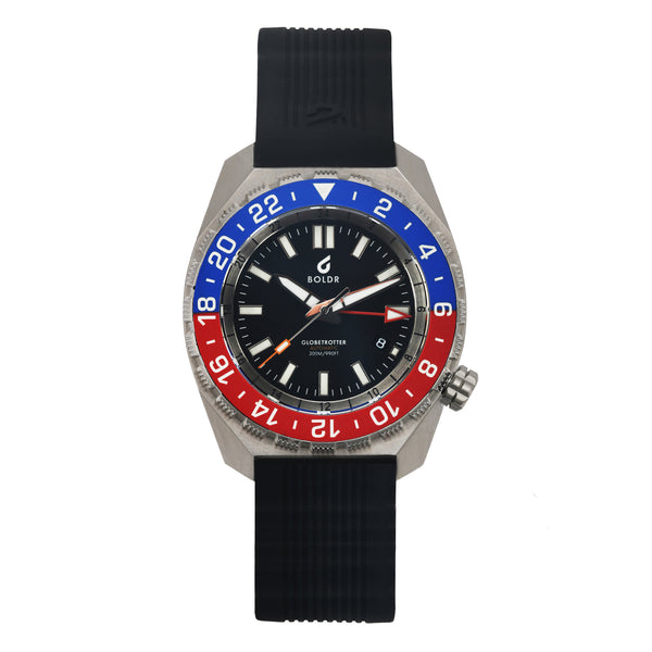 BOLDR Globetrotter GMT - Blue Red