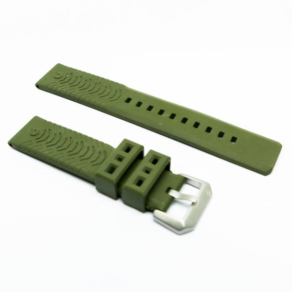 Expedition Rubber Strap - Green