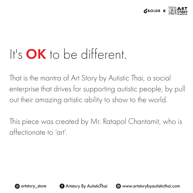 BOLDR x Art Story by Autistic Thai Foundation